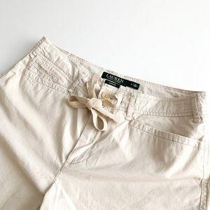 Lauren by Ralph Lauren Khaki Shorts